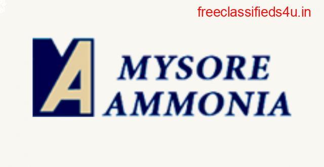 Buy High Quality Refrigerant Grade Ammonia from Mysore Ammonia