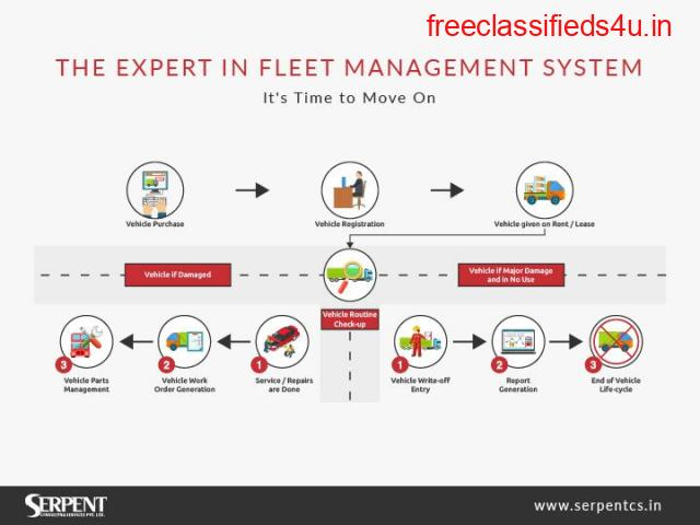 Odoo Fleet Management, Fleet Management Software - SerpentCS