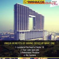 Wave One Sector 18, Commercial Shops in Sector 18 Noida