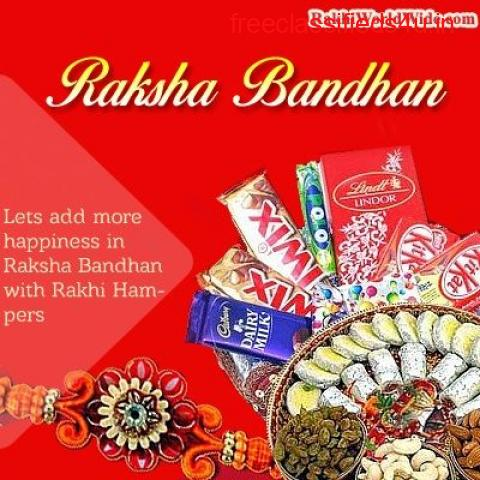 Send Rakhi with Dry Fruits Online to United Kingdom at Low Cost-Express Delivery