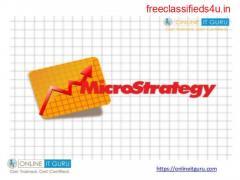 Micro strategy certification training | Microstrategy courses | OnlineITGuru