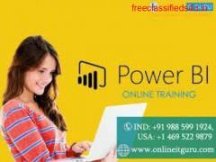 power bi online training | power bi online course | OnlineITGuru
