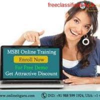 Msbi Online Training India | MSBI Certification Training | OnlineITGuru