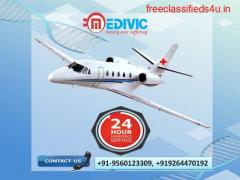 Affordable Charter Air Ambulance Services in Kolkata by Medivic