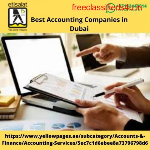 Find the Best Accounting Companies in Dubai