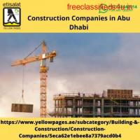Construction Companies in Abu Dhabi | List of Construction Companies in UAE