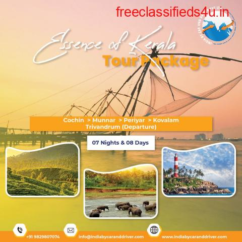 ESSENCE OF KERALA TOUR PACKAGE