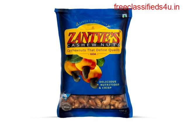 Best Quality Zantye Cashew with Skin 500gms in Goa, India - Zantye