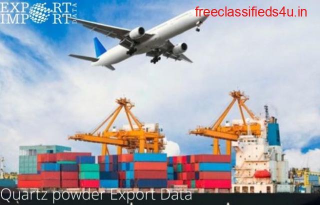 Quartz powder Export Data Report Online