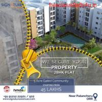 Gated community 2BHK flats in Patancheru