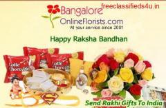 Buy designer Rakhis, Chocolates & Pooja Thali at Low Cost - Same Day Delivery in Bangalore