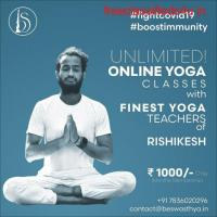 Unlimited online yoga classes with Be Swasthya