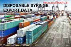DISPOSABLE SYRINGE EXPORT DATA : Make the Best Sales Prospects