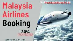 Get Best Offer on Malaysia Airlines Booking