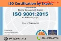 ISO certification by Expert at affordable Price.