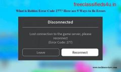 What Is Roblox Error Code 277 And How To Deal With It?
