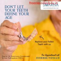 Dental implants cost in Visakhapatnam | Swarna Dento Care