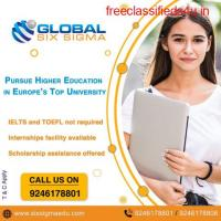 Study Masters in Europe for Free Golden Chance from Global Six Sigma