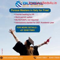 Pursue masters in Italy for free without IELTS | Global Six Sigma