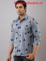 Buy Pure Cotton Shirts for Mens - Feranoid