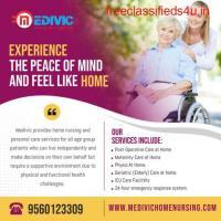 Appropriate ICU Support Medivic Home Nursing Service in Patna