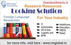 We at RM Global Consulting (RMG)
