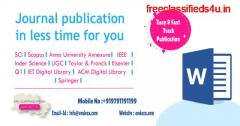 PhD assistance thesis writing journal publications