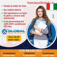 Study in Italy for free with assistance from Global Six Sigma Consultants | study in Italy for free