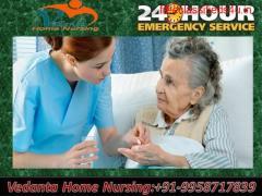 Get Vedanta Home Nursing Service in Kidwaipuri, Patna for quick Response