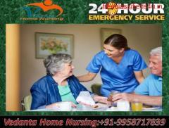 Get Vedanta Home Nursing Service in Mahendru, Patna for Comfortable Facilities