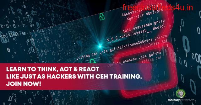 CEH Certification - Make a career in Cyber Security