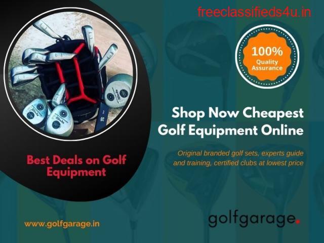 Shop Cheapest Golf Equipment Online