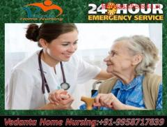 Use Reliable Home Nursing Service in Punaichak, Patna for Emergency Services