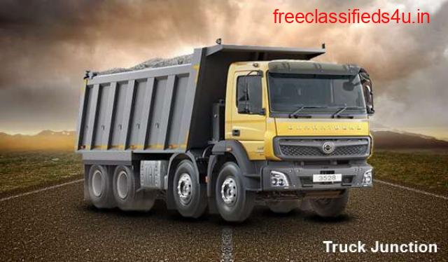 Bharatbenz Tipper 3528 - Brand's Most Premium and Heavy Duty Tipper