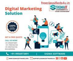 Best Digital Marketing Agency in Lucknow - SigmaIT Software