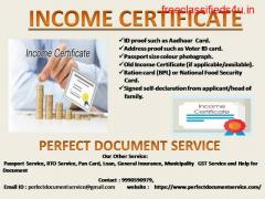 Income  Certificate|  SDM| South Delhi |  Registration for certificate