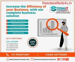 Complete Business Solutions At SigmaIT Software
