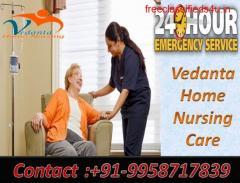 Get Vedanta ICU Home Nursing Service in Saguna More, Patna for Patient Care