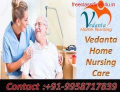 Get Vedanta Home Healthcare Service in Rajendra Nagar, Patna with Medical Facility