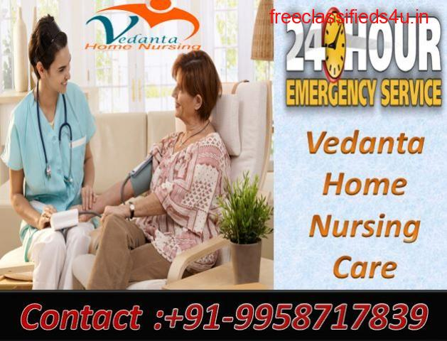 Get Vedanta ICU Home Healthcare Services in Kankarbagh, Patna with ICU Facilities