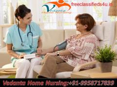 Book Vedanta Home Nursing Service in Boring Road, Patna with Medical Team