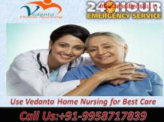 Book Vedanta Home Nursing Service in Kankarbagh, Patna with the Best Facilities