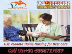 Get Home Nursing Service in Danapur, Patna by Vedanta at Best and Low Cost