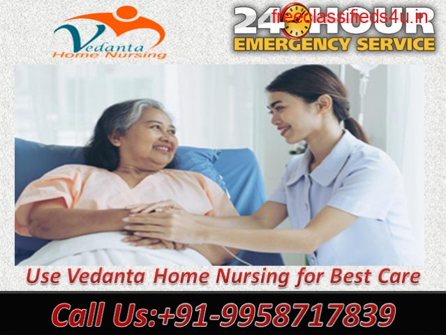 Avail Low-Cost Home Nursing Service in Boring Road, Patna by Vedanta