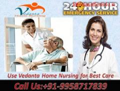 Get Emergency Cost-Efficient Home Nursing Service in Sipara, Patna by Vedanta