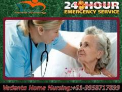 Get the best and safe Vedanta Home Service in Patel Nagar, Patna for patient care