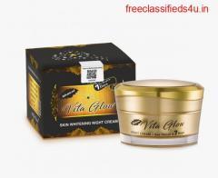 Vita Glow Night Cream  Natural cream for skin whitening   Healthcare Beauty