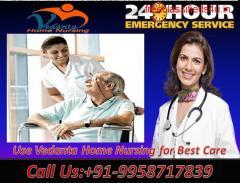 Utilize Best Medical Home Nursing Service in Patel Nagar, Patna by Vedanta