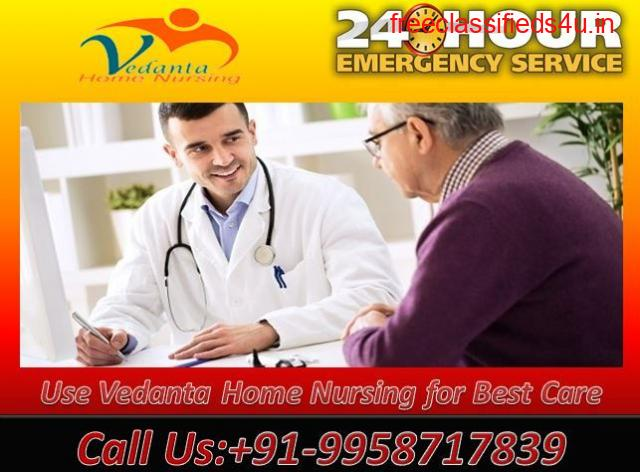 Available Emergency Home Nursing Service in Anisabad, Patna with ICU Facility