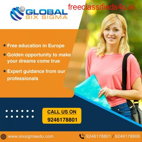 Study Masters in Europe for Free: Golden Chance from Global Six Sigma
